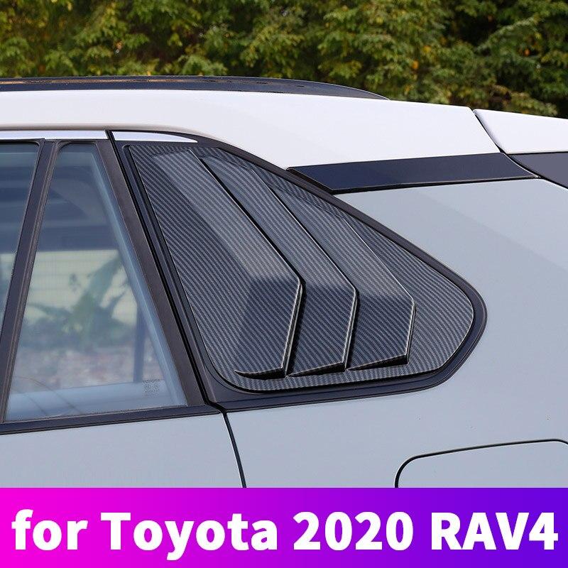 Toyota Rav4 2019 2020 vitre de carrosserie | Garniture de voiture, vitre triangulaire arrière, Modification de la vitre latérale, Article de décoration pour Toyota Rav4