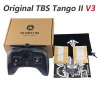 TeamBlackSheep TBS TANGO 2 V3 versión construida en TBS fuego cruzado de tamaño completo Sensor HAll Gimbals RC Dron de carreras con visión en primera persona controlador de Radio