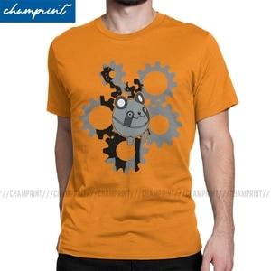 Мужская футболка Steins Gate Mayuri's Metal Upa, винтажные футболки из 100% хлопка с круглым вырезом и коротким рукавом, большие размеры, топы