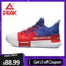 PEAK Lou – chaussures de basket à coussin adaptatif pour hommes, baskets de sport, d'entraînement, technologie TAICHI