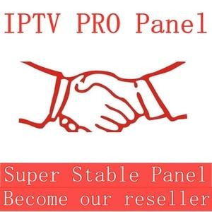 Image 1 - Panneau de configuration IPTV avec crédits pour la gestion des revendeurs 10000 +