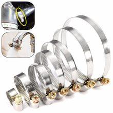5 braçadeiras de tubulação jubilee genuíno clipes de mangueira de aço inoxidável mangueira de combustível do carro braçadeiras de tubulação sem-fim durável anti-oxidação