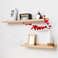 Multifunction Partition Shelf Wall Hanging Solid Wood Hook Shelf Set top Wall Shelves Coat Hooks Home Decoration Organization