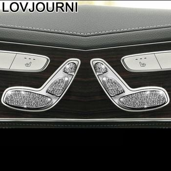 Modified Interior Automovil Chromium Automobile Parts Accessories Mouldings Car Styling 15 16 17 18 19 FOR Mercedes Benz C Class