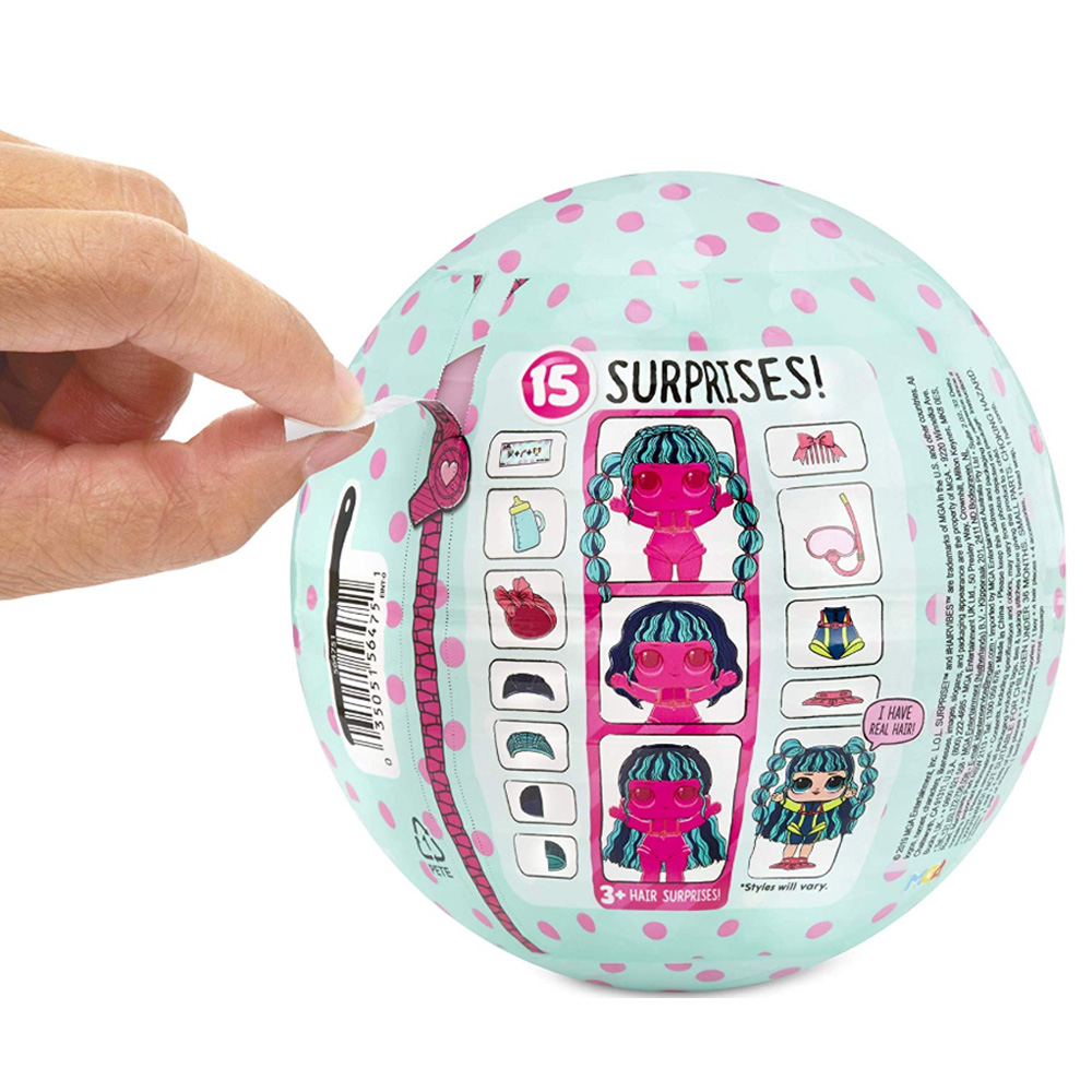 Image 2 - lols Dolls Surprise With original ball a function of crying and peeing or clothing discolorationAction & Toy Figures   -