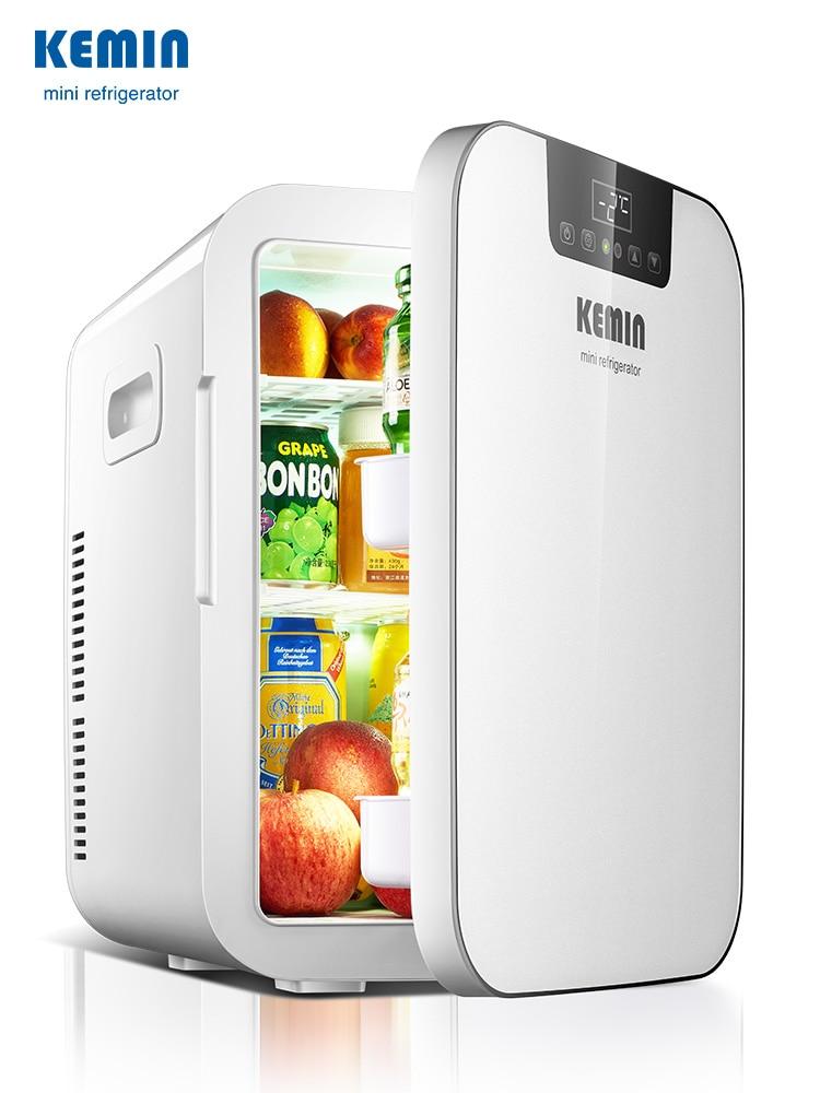 20L Dual Use Mini Refrigerator Home/Car Single Door Refrigerators Freezer Cooling Heating Box Fridge Single / Dual Core