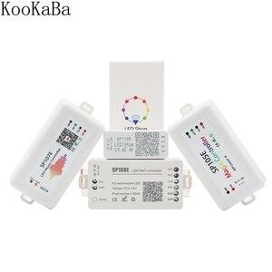WS2812B WS2811 SK6812 Led Pixels Strip Light Controller Bluetooth SP105E SP110E WIFI SP108E SP501E Music SP107E SP601E DC5V-24V(China)
