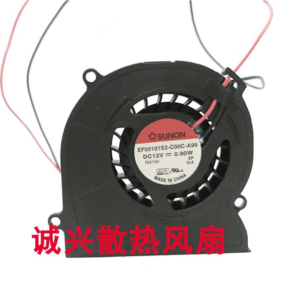 Voor Sunon EF50101S2-C00C- A99 50Mm Fan 50X50X10Mm 12V 0.9W Ultra-dunne Turbine Fan