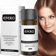 Efero עוצמה שיער צמיחת סרום למנוע שיער אובדן חיוני שמן יותר עבה למנוע התקרחות מוצרים מקצועי שיער לגדול