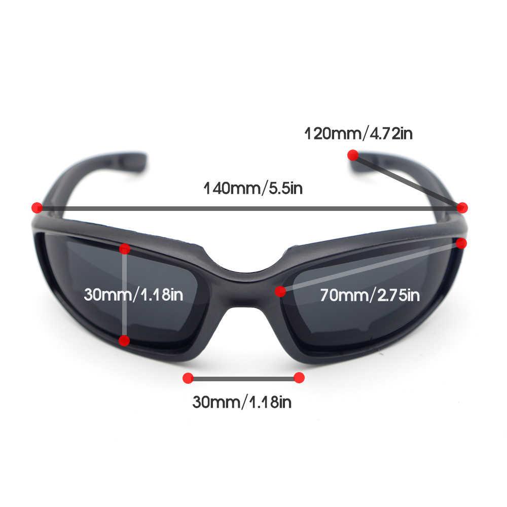Motorfiets Goggles Black Frame Bril Gepolariseerde Voor Benelli Trk 502 Accessoires 302 600 Tnt 1130 Trk 502x Trk502 Leoncino 500