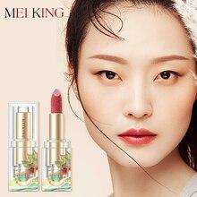 MEIKING National Style Moisturizer Lipstick Waterproof Long-lasting Lip Stick Sexy ROSE Red Lipsticks Makeup Lips New Fashion