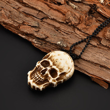 NEW Vintage Skull Design Pocket Mini Knife Outdoor Camping Survival  Knife Necklace Keychain EDC Tool Drop Shipping