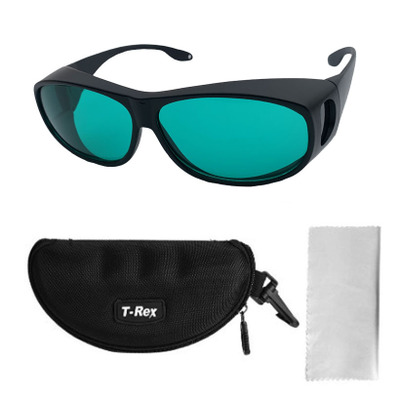 Laser protective glasses wavelength OD4 640-660nm and 830-850nm anti infrared laser radiation anti infrared optical goggles