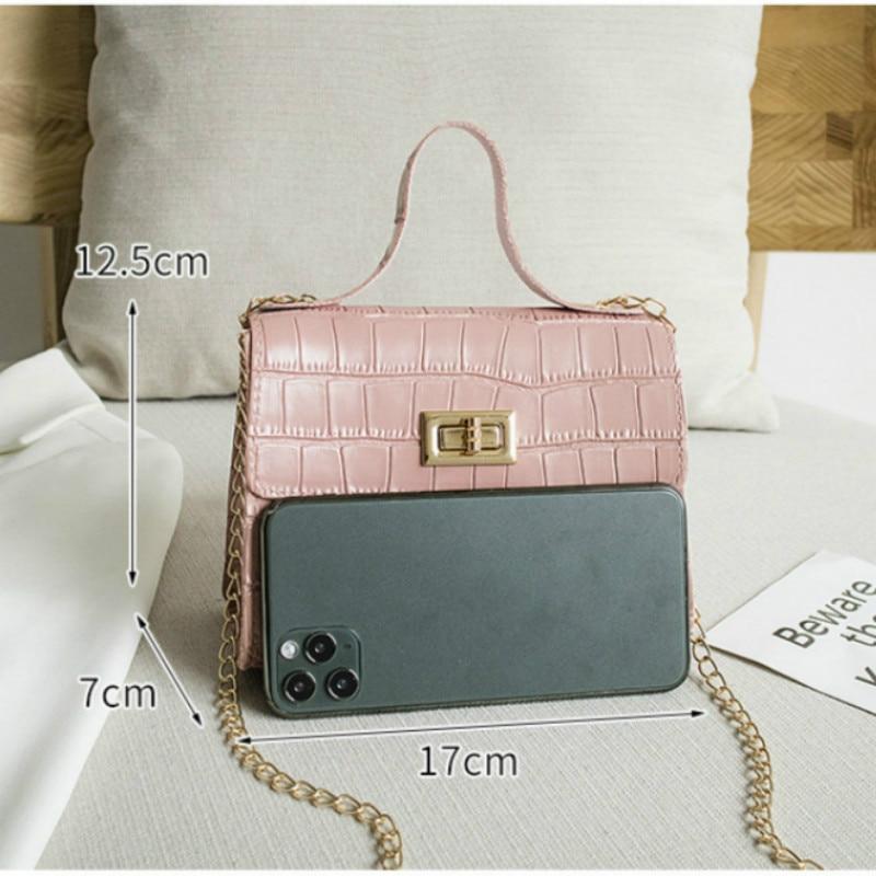 PU modne ženske torbice poletne nove krokodil vzorčne torbice - Torbice - Fotografija 3