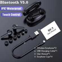 Bluetooth 5.0 Earphone Noise Cancelling Sports Waterproof Headset 9D Stereo Wireless Bluetooth Headp