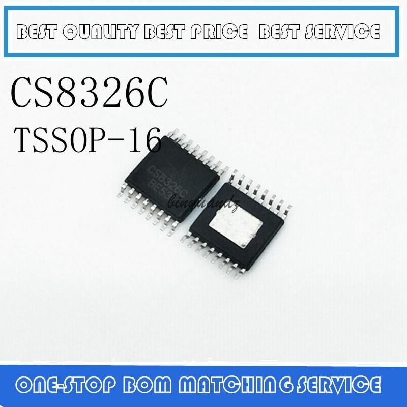 5PCS CS8326 CS8326C TSSOP-16
