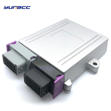 цена 1 set 24 pin/way 2 hole Aluminum Automotive ECU Enclosure Box PCB with male female ECU auto plug connector онлайн в 2017 году