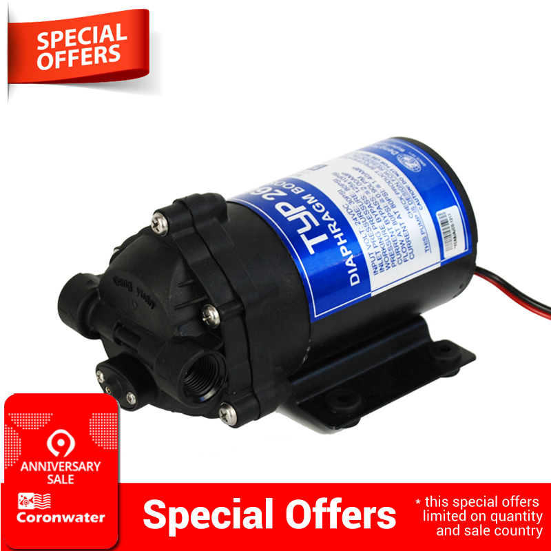 100gpd Water Filter RO Booster Pump For Increase Reverse Osmosis System Pressure