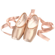 Ballet Dance Shoes Child and Adult Ballet Dance Shoes Pointe Professional With Ribbons Shoes Woman Zapatos Mujer Women's Sneaker