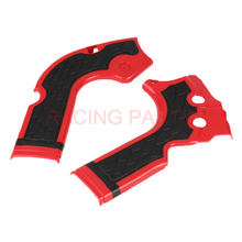 Free shipping Motorcycle X-Grip Frame Guard Protection Cover for CRF250R 2014-2016 CRF450R 2013-2016 MX Motocross.