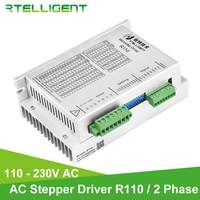 Rtelligent 220VAC Nema 42 High Torque 12N.M 20N.M 5A Digital Stepper Motor Driver Step Stepper Driver Motor Driver for CNC Kit