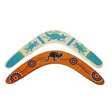 Милый V-образный летающий диск Boomerang, бросающий ловушка для игр на открытом воздухе