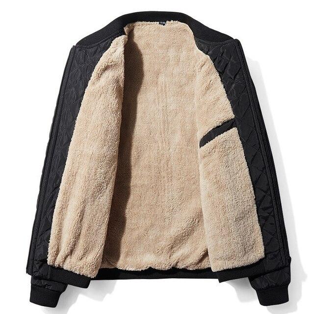 2020 New Autumn Winter Cotton Coat Men'S Jacket Men'S Cotton Jacket Jacket  Jacket Fat Male Army Velvet Clothes 2