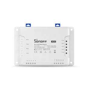 Image 3 - Sonoff 4CH 10A/Gang Wifi Smart Switch 4 Gang Four Channel Remote Wifi Light Switch Control 4 Devices Work with Alexa Google Home