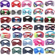 Оптовая продажа 100 шт галстуки бабочки для собак и кошек банты