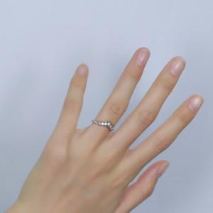 Image 5 - Transmems 10 к белое золото центр Маркиза Форма круглый F бесцветный Муассанит Корона Обручальное кольцо обручальное