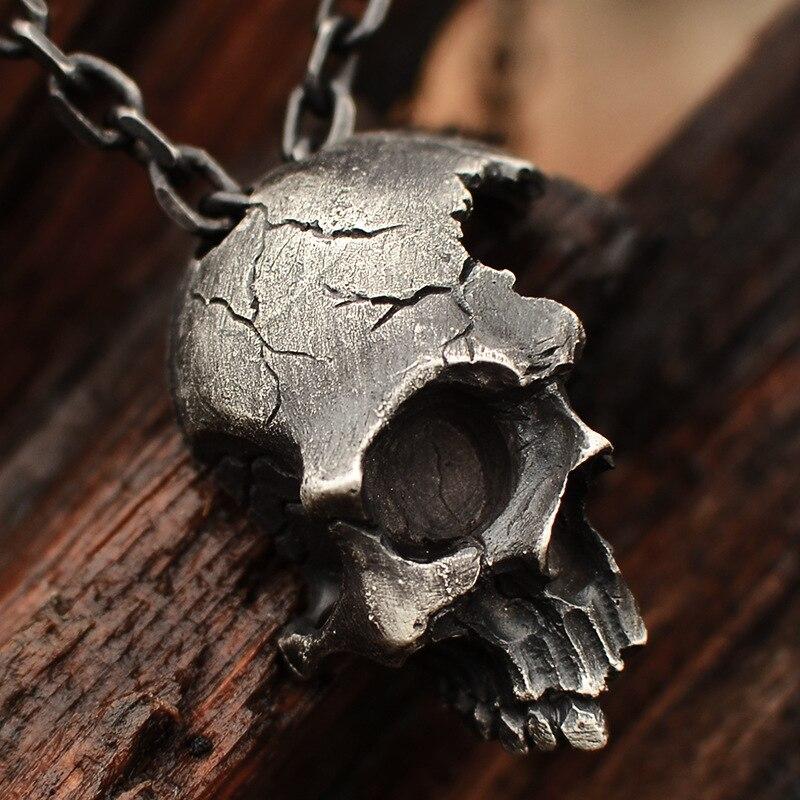 skull necklace pendant (3)