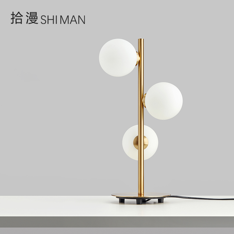 Bean Desk Lamp Fashion Household Simple Lightweight Bedroom Studio Living Room Hotel Decoration Nordic Individual Light|LED Table Lamps| |  - title=