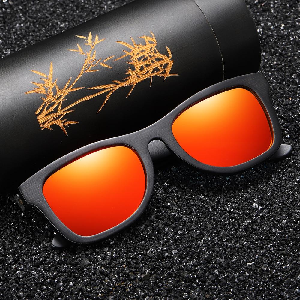 Image 4 - GM Wood Sunglasses Men Brand Designer Polarized Driving Bamboo Sunglasses Wooden Glasses Frames Oculos De Sol Feminino S1610BMens Sunglasses   -
