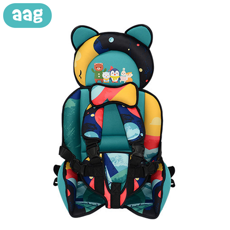 AAG Portable Child Chair Seat Baby Safety Seat Cushion Pad Mat Kids Dining Chair Stroller Travel Belt Baby Chairs Carrier