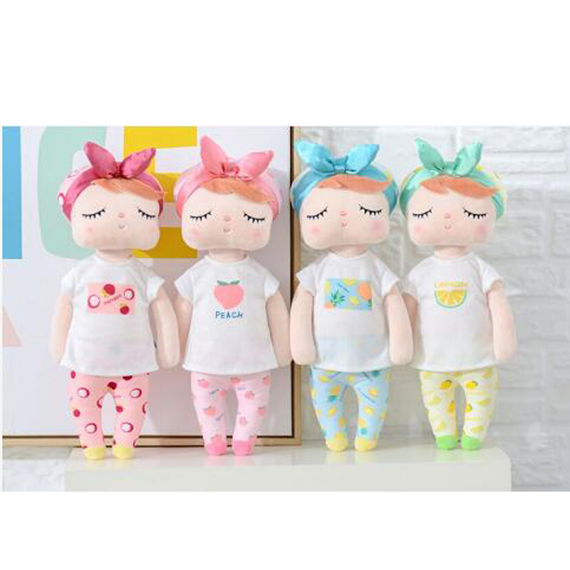 Doll Toys Angela Fruit-Series Stuffed Birthday Christmas-Gift Rabbit Metoo Plush Girls