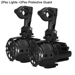 Image 2 - Faduies motocycle luzes de nevoeiro para bmw motocicleta led auxiliar nevoeiro luz condução da lâmpada para bmw r1200gs/adv k1600 r1200gs f800gs