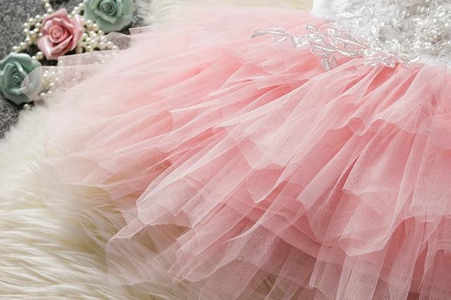 Kids Birthday Dress / Party Dress for Baby Girls 6