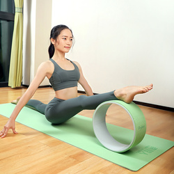 Yoga Circle Wheel Fitness Ring Loop Professional Pilates Wheel Waist Shape Bodybuilding Gym Workout Waist Shape Equipment