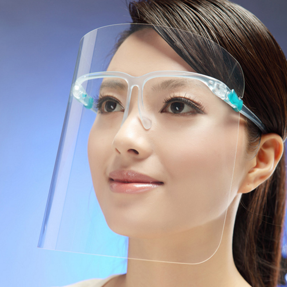 Face Shield Protective Face Cover  Transparent  2020 NEW