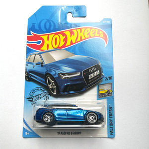 Image 2 - Hot Wheels 1:64 Car (AUDI RS 5 COUPE) (84 AUDI SPORT QUATTRO) (17 AUDI RS 6 AVANT) Collector Edition Metal Diecast Model Cars