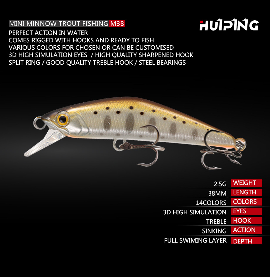 Bassland Sinking Minnow Fishing Lures Casting 35mm Baits-Tackle Hard-Lure for Pesca Suitable title=