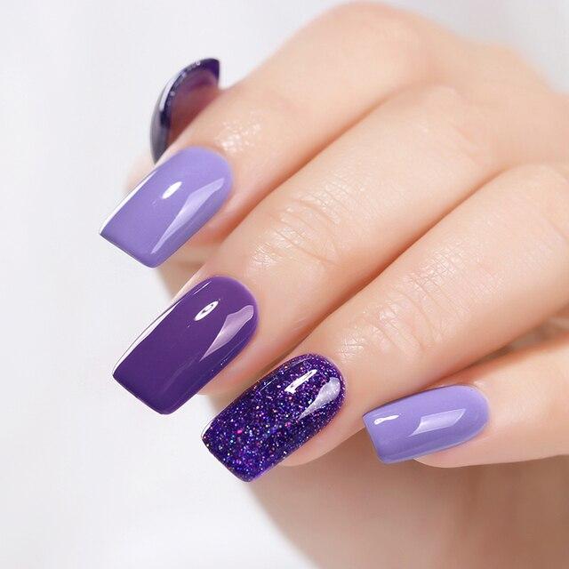 MAD DOLL 8ml 60 Colors Gel Nail Polish  Nail Color Nail Gel varnish Soak Off UV Gel Varnish Base Coat No Wipe Top Coat 3