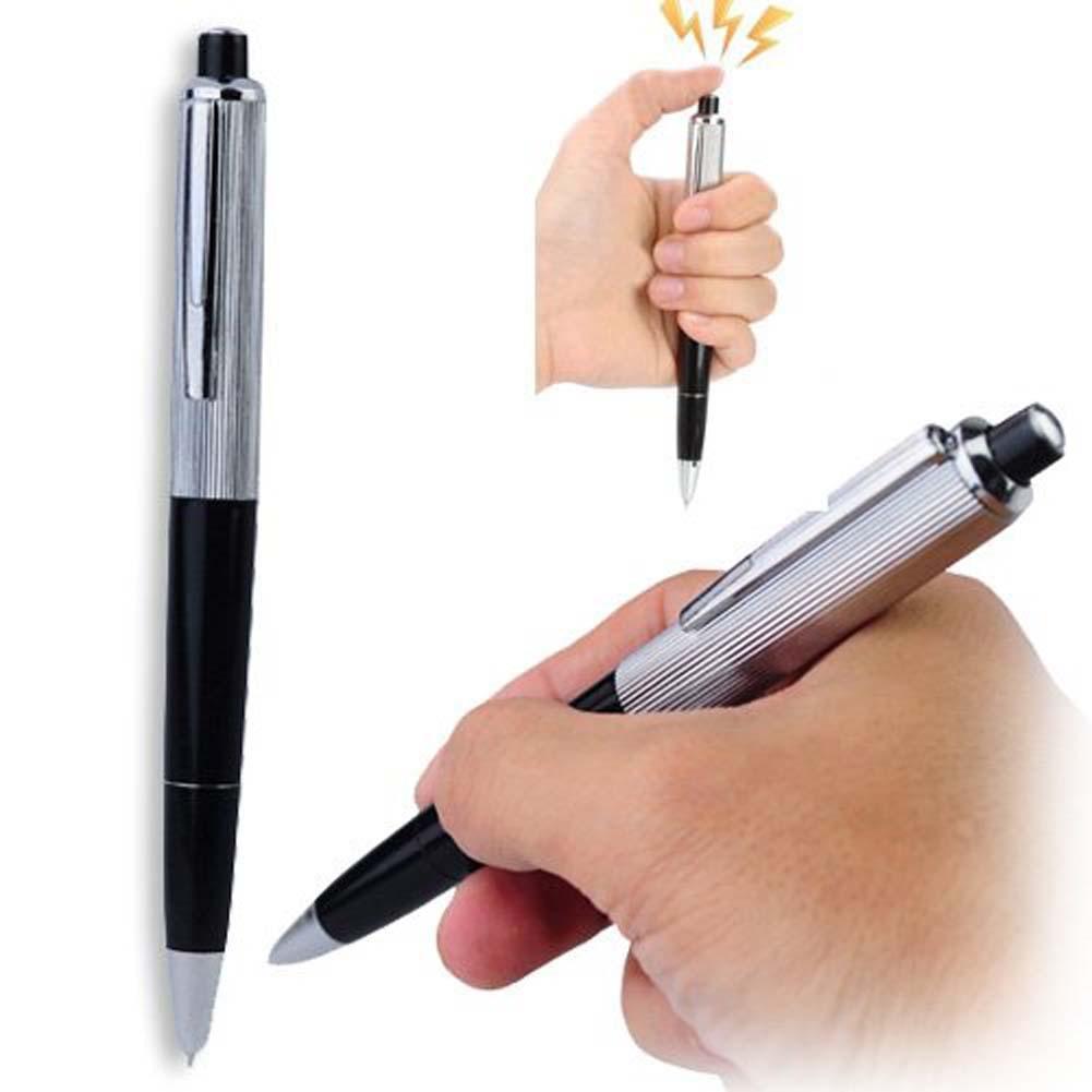 2019 drôle électrochoc stylo à bille jouets choquant électrique choc jouet cadeau blague blague astuce amusant nouveauté meilleur cadeau dun ami