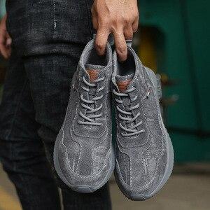 Image 3 - Stalen Neus Anti Smashing Mannen Veiligheid Schoenen Onverwoestbaar Anti Lek Werken Schoenen Man Veiligheid Alles In Een veiligheid Laarzen Schoenen