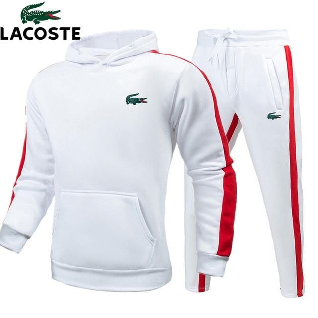 Autumn winter New Hoodies Sweatshirts Sporting Sets Men's Tracksuits Two Piece Hoodies Men Clothing Set Sportswear