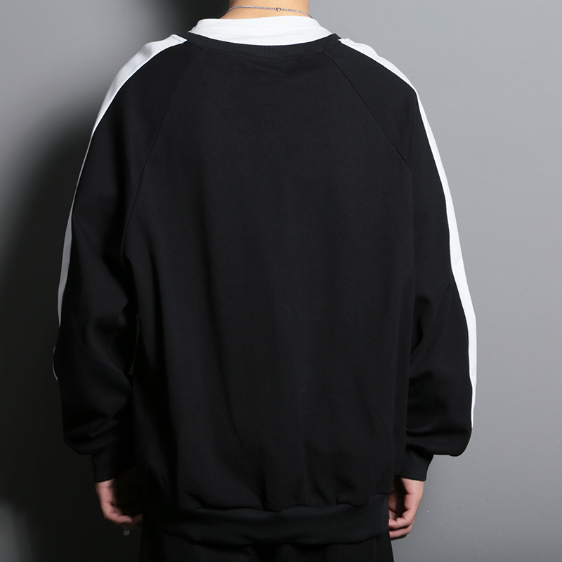 Streetwear Patchwork Men 39 s Sweatshirts Creative Printed Men 39 s Sweatshirts Large Sizes O Neck Men 39 s Sweatshirts in Hoodies amp Sweatshirts from Men 39 s Clothing