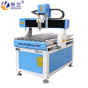Minglan mini cnc router cnc machine 600*900mm 6090 on sale rodeo 6090 router cnc 600x900 working size ball screw drive cnc machine