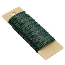 Verde escuro 40m fio floral da videira do fio vincular o fio rústico que envolve o fio para buquês da flor para diy/acessório da flor do náilon