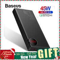 Baseus 20000mAh Accumulatori e caricabatterie di riserva USB PD Veloce di Ricarica Powerbank per il iPhone 11 Pro Max Xiaomi Carica Rapida 4.0 3.0 Esterno batteria