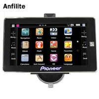 AVIN-navegador gps con cámara de visión trasera para coche, dispositivo con bluetooth, pantalla de 7 pulgadas, DDR 256M, 8GB, MTK, windows, CE 6,0